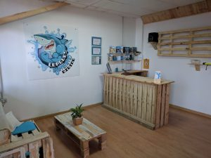 Leagues Ahead Dive Centre Reception