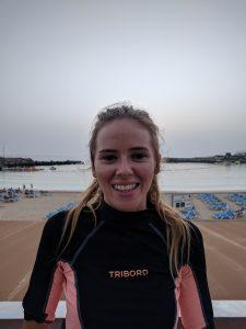 Sophie of Leagues Ahead Diving Team