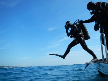 Boat dive for qualified divers