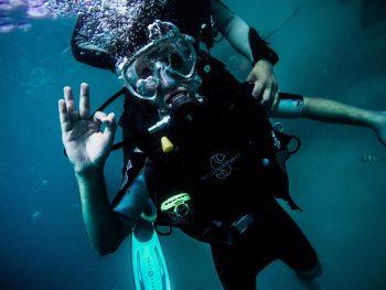Discovering scuba diving