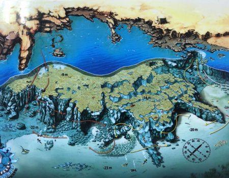 Map of el cabron