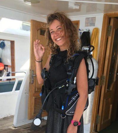 Ilze member of leagues ahead diving
